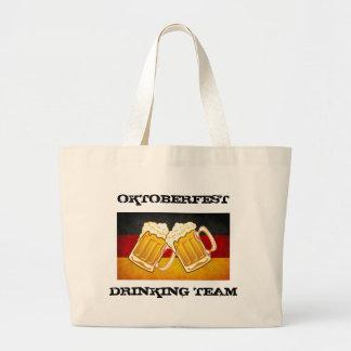 Oktoberfest Beer Party - Germany Drinking Team Jumbo Tote Bag