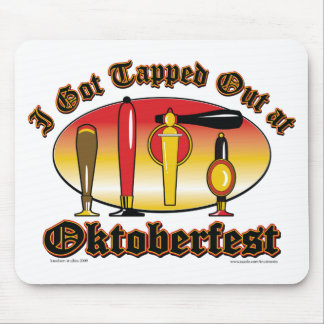 Oktoberfest Beer Tappers Mouse Mat