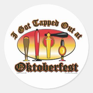 Oktoberfest Beer Tappers Stickers