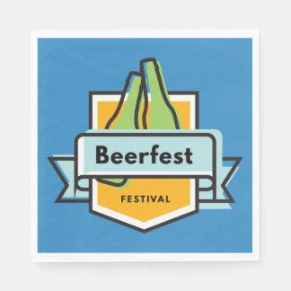 Oktoberfest Beerfest Festival Disposable Napkins