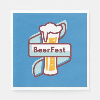 Oktoberfest Beerfest Festival Paper Serviettes