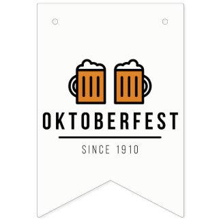 Oktoberfest Beerfest Festival Since 1910 Bunting