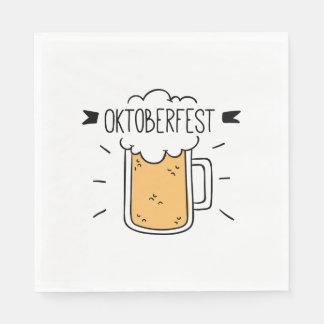 Oktoberfest Beerfest Paper Napkin