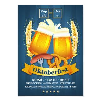 Oktoberfest Beers Invitation