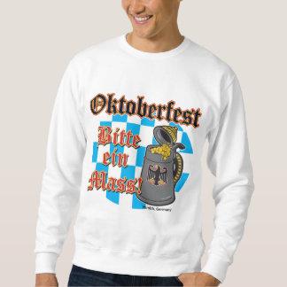 Oktoberfest Bitte ein Mass Sweatshirt