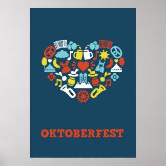 Oktoberfest (Blue) Print