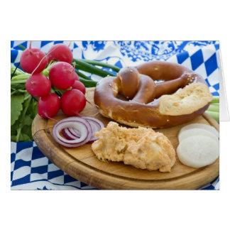 Oktoberfest Breakfast Card