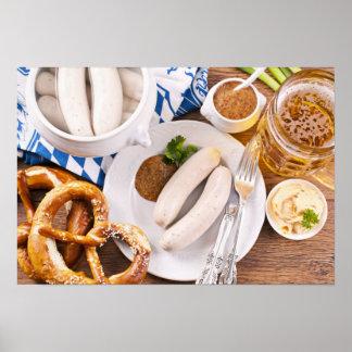 Oktoberfest breakfast poster
