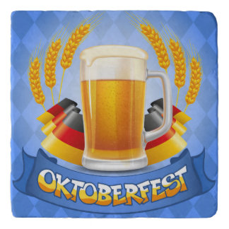 Oktoberfest Celebration Background With Trivet