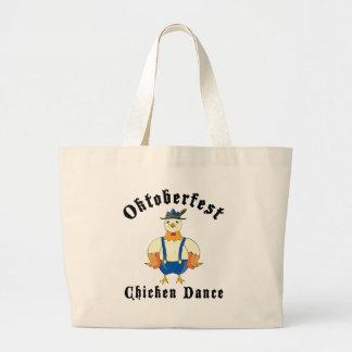 Oktoberfest Chicken Dance Tote Bag