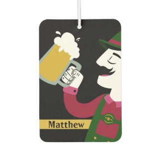 Oktoberfest custom name air freshner car air freshener