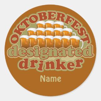 OKTOBERFEST custom stickers