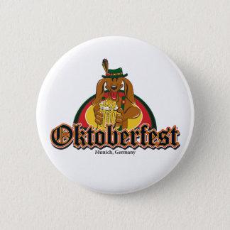 Oktoberfest Dachshund 6 Cm Round Badge