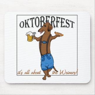 Oktoberfest Dachshund Mouse Pad