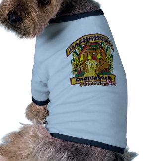 Oktoberfest Dopplerbock Dachshund Pet Tshirt