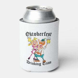 Oktoberfest Drinking Team Can Cooler