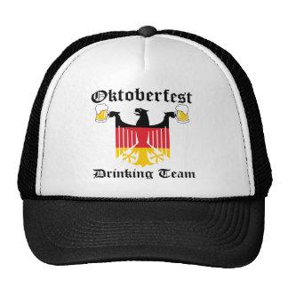 Oktoberfest Drinking Team Cap