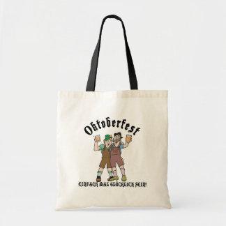 Oktoberfest EINFACH MAL GLÜCKLICH SEIN! Bags