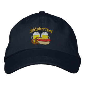Oktoberfest Embroidered Cap