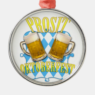 Oktoberfest, famous beer festival in Munich Christmas Ornament