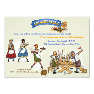 Oktoberfest Feast Invitation