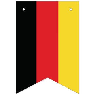 Oktoberfest. Flag of Germany.