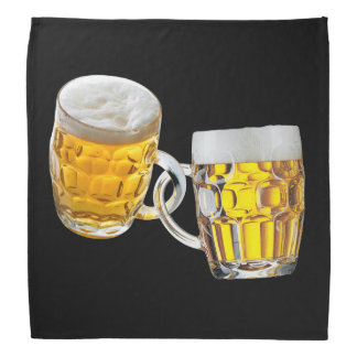 Oktoberfest Friends Two Beer Glasses Funny Bandana