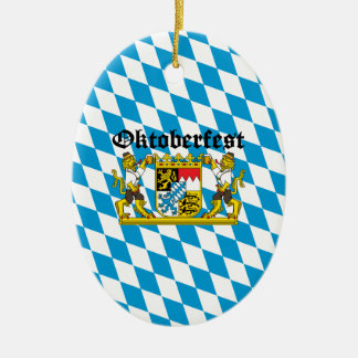 Oktoberfest - From Leon with beer Christmas Ornament