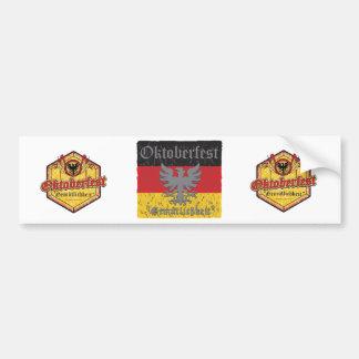 Oktoberfest Gemutlichkeit Bumper Sticker