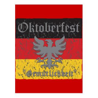 Oktoberfest Gemutlichkeit Postcard