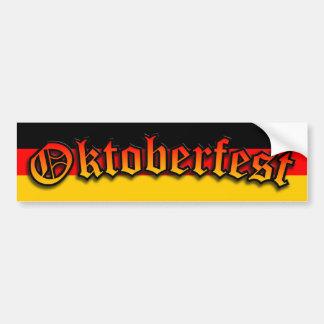 Oktoberfest German Beer Bumper Sticker Decal