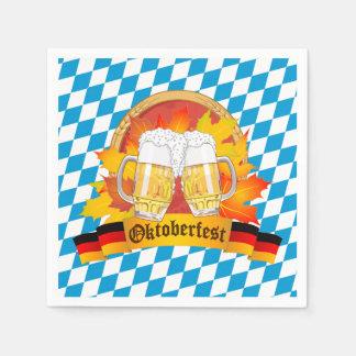 Oktoberfest German Beer Festival Disposable Serviettes