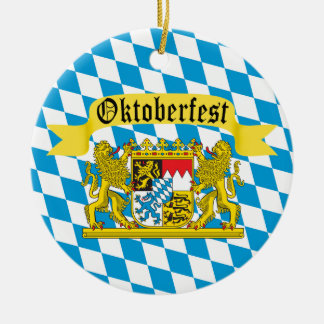 Oktoberfest German Bier Festival Christmas Ornament