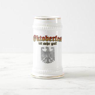 Oktoberfest German Drinking Beer Stein - Prost! 18 Oz Beer Stein