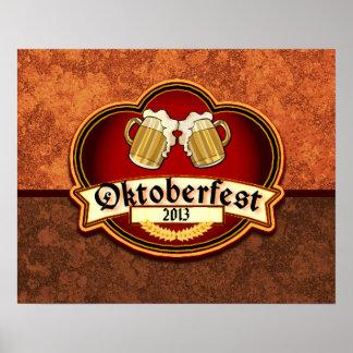 Oktoberfest German Festival Custom Dated Poster