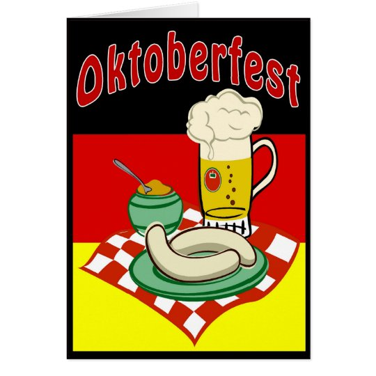 Oktoberfest Germany Card
