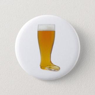 oktoberfest-glass-beer-boot 6 cm round badge