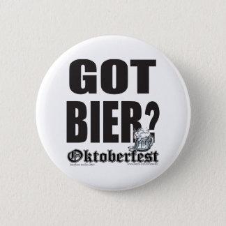 Oktoberfest Got Bier? 6 Cm Round Badge