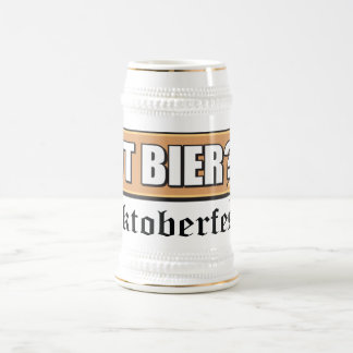 Oktoberfest Got Bier Beer Stein