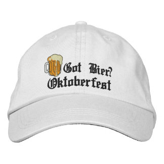 "Oktoberfest ""Got Bier?"" Embroidered Cap"