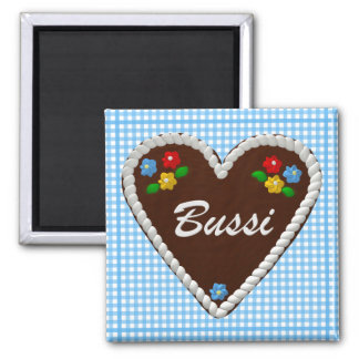 "Oktoberfest Heart ""Bussi"" Magnet"