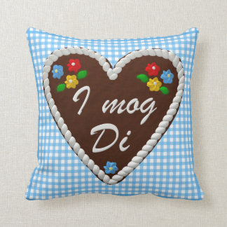 "Oktoberfest Heart ""I mog Di"" Cushion"