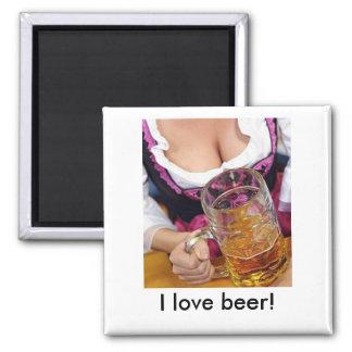 Oktoberfest, I love beer! Magnet