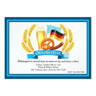Oktoberfest Ingredients Invitation