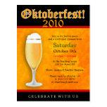 Oktoberfest Invitation Postcard