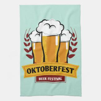 Oktoberfest kitchen towel