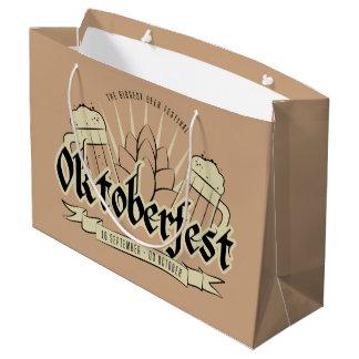 Oktoberfest large gift bag