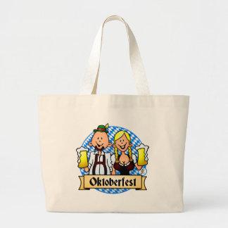 Oktoberfest Large Tote Bag