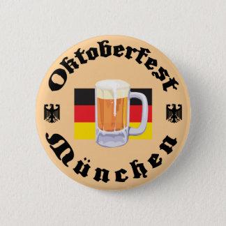Oktoberfest Munchen 6 Cm Round Badge