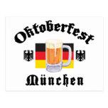 Oktoberfest Munchen Postcards